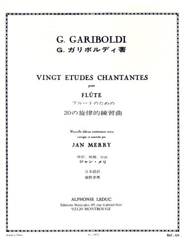 20 ETUDES CHANTANTES Op.88