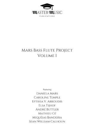 MARS BASS FLUTE PROJECT Volume 1