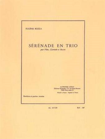 SERENADE EN TRIO (score & parts)