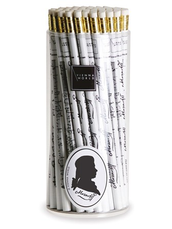 PENCIL BOX Mozart (White - Box of 72)