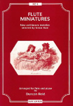 FLUTE MINIATURES 9 well-known melodies