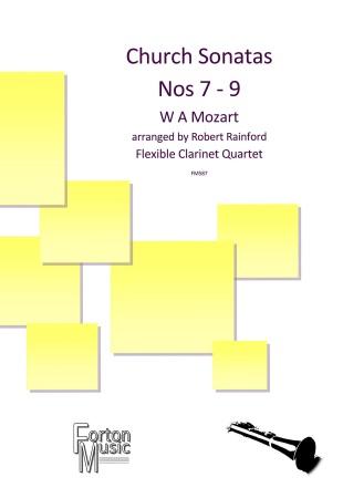 CHURCH SONATAS No.7-9 (score & parts)