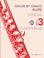 GRADE BY GRADE Flute Grade 3 + CD
