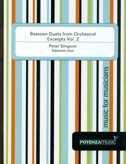 BASSOON DUETS FROM ORCHESTRAL EXCERPTS Volume 2