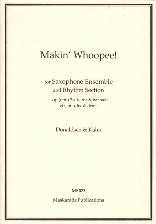 MAKIN' WHOOPEE (score & parts)