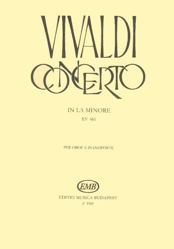 CONCERTO in A minor FVII/5 PV42 RV461 Op.39 No.2