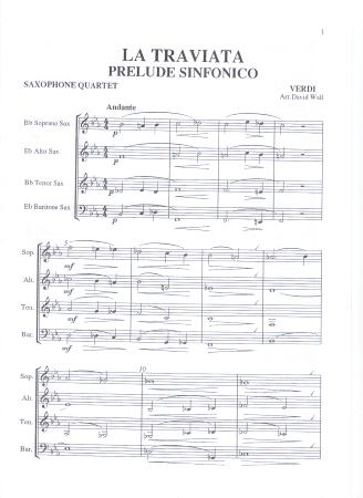 LA TRAVIATA: Prelude Sinfonico