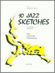10 JAZZ SKETCHES Volume 3 playing score