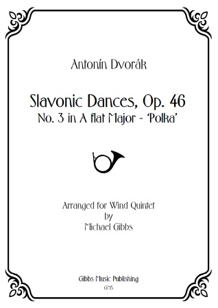 SLAVONIC DANCE Op.46 No.3 (score & parts)