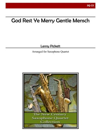 GOD REST YE MERRY GENTLE MENSCH