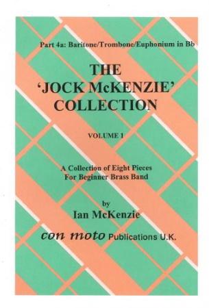 THE JOCK MCKENZIE COLLECTION Volume 1 BRASS BAND Part 4a Baritone/Trombone/Euphonium (TC)