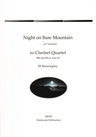 NIGHT ON A BARE MOUNTAIN (score & parts)