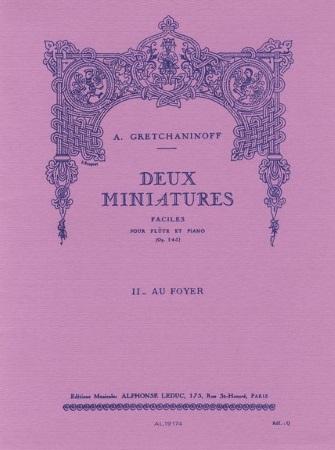 DEUX MINIATURES Op.145 - No.2 Au Foyer