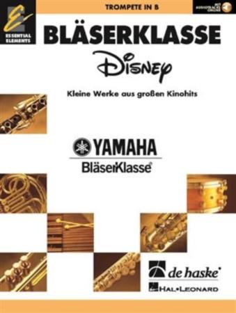 WIND CLASS DISNEY Trumpet + Online Audio