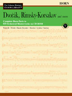 THE ORCHESTRA MUSICIAN'S CD-ROM LIBRARY Volume 5: Dvorak, Rimsky-Korsakov and more