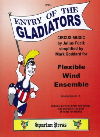 ENTRY OF THE GLADIATORS (score & parts)