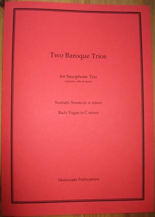 TWO BAROQUE TRIOS (score & parts)