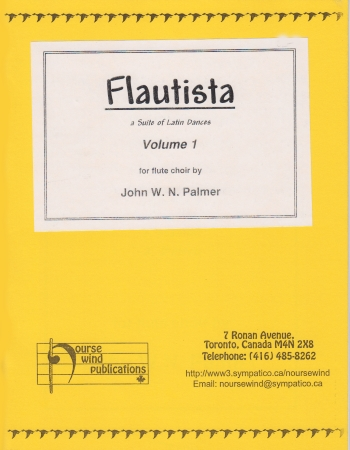 FLAUTISTA Volume 1 score & parts