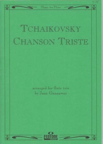 CHANSON TRISTE