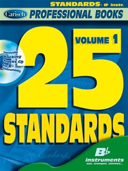 25 STANDARDS Volume 1 + CD