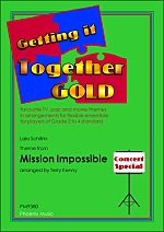 MISSION IMPOSSIBLE Theme (score & parts)