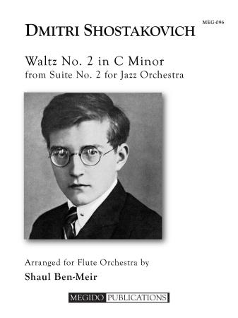 WALTZ No.2 in C minor (score & parts)