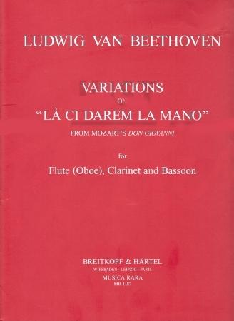 VARIATIONS on 'La Ci Darem La Mano', WoO 28