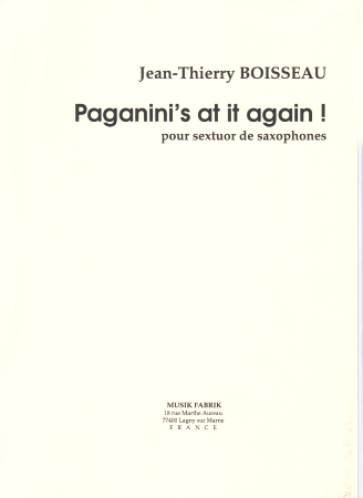 PAGANINI'S AT IT AGAIN (score & parts)