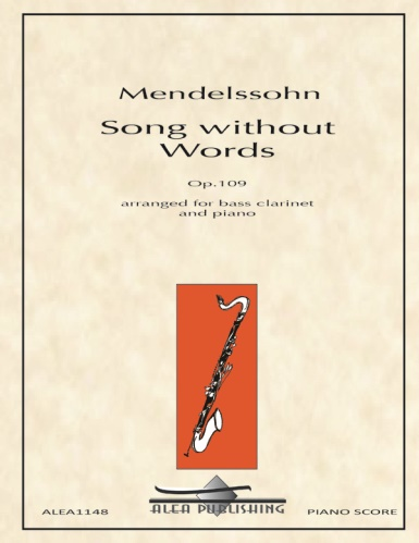 SONG WITHOUT WORDS Op.109