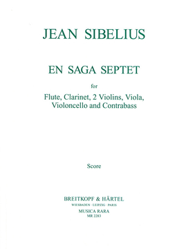 EN SAGA Septet (score & parts)