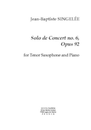 SOLO DE CONCERT No.6 Op.92