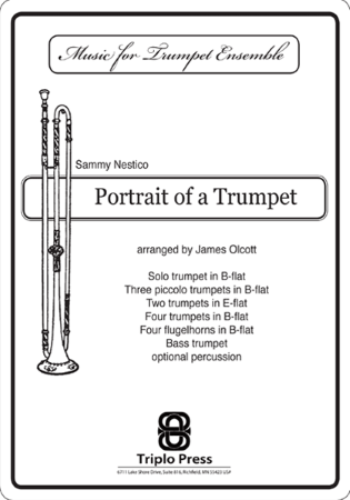 PORTRAIT OF A TRUMPET (score & parts)