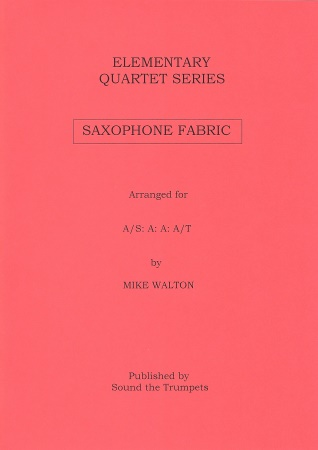 SAXOPHONE FABRIC (score & parts)
