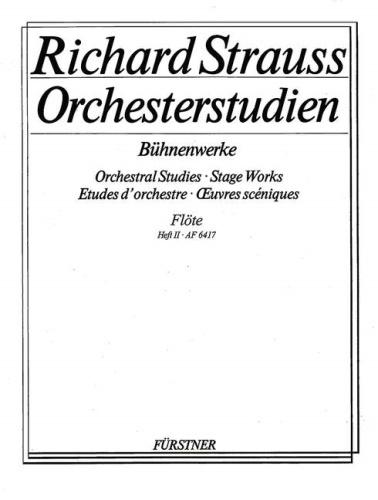 ORCHESTRAL STUDIES Volume 2 Stage Works
