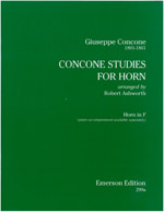 CONCONE STUDIES Horn Part