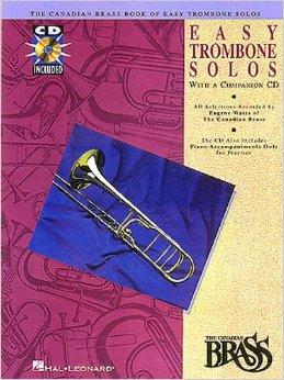 EASY TROMBONE SOLOS + CD