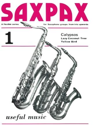 SAX PAX 1: Calypsos (score & parts)