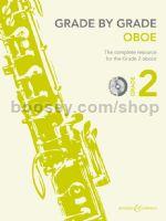 GRADE BY GRADE Oboe Grade 2 + CD