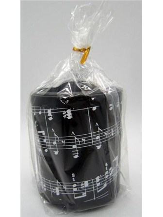 PEN HOLDER Music Notes (Round Plastic)