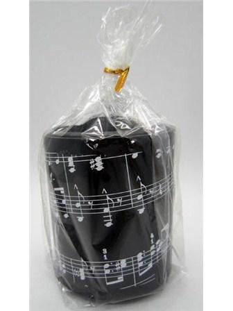 PEN HOLDER Music Notes (Round Plastic)