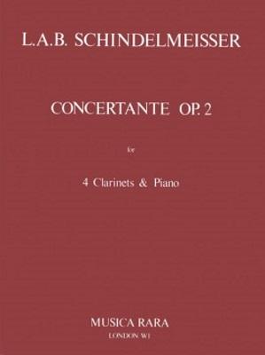 CONCERTANTE in Eb major Op.2 (score & parts)