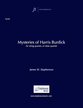 MYSTERIES OF HARRIS BURDICK