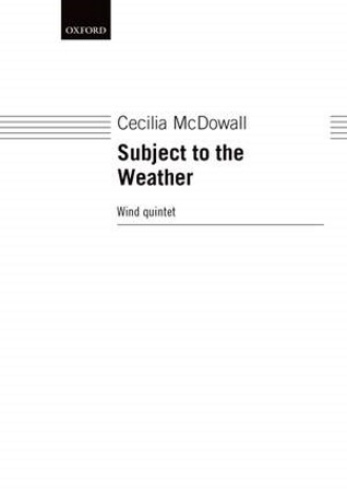 SUBJECT TO THE WEATHER (score & parts)