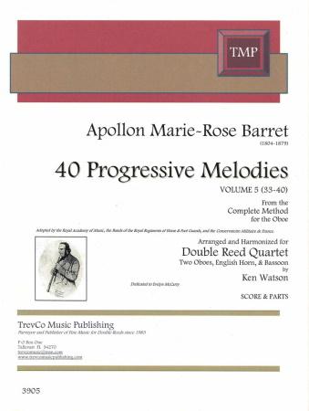 40 PROGRESSIVE MELODIES Volume 5
