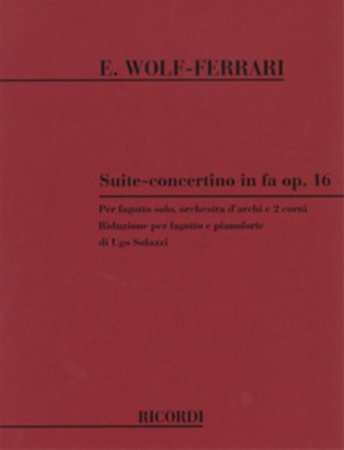SUITE CONCERTINO in F major Op.16