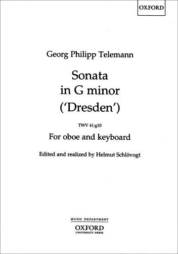 SONATA in G minor 'Dresden' TWV 41:g10