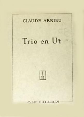 TRIO EN UT (miniature score)