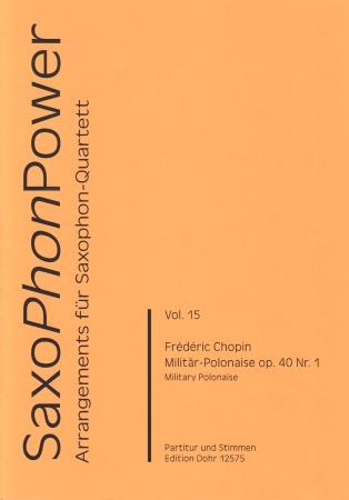 MILITARY POLONAISE Op.40 No.1 score & parts