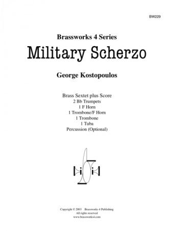 MILITARY SCHERZO