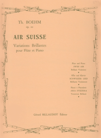AIR SUISSE Variations Brillantes Op.20